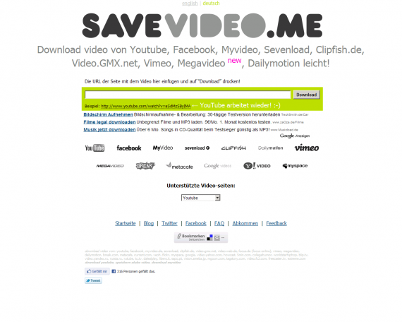 savevideo screen