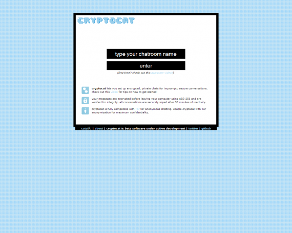 cryptocat screenshot